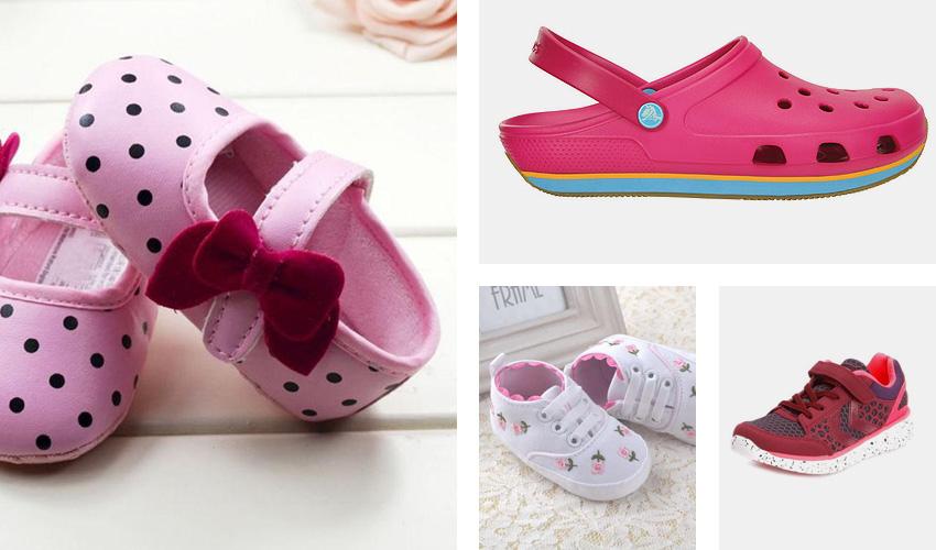 Bebek, çocuk ayakkabıları